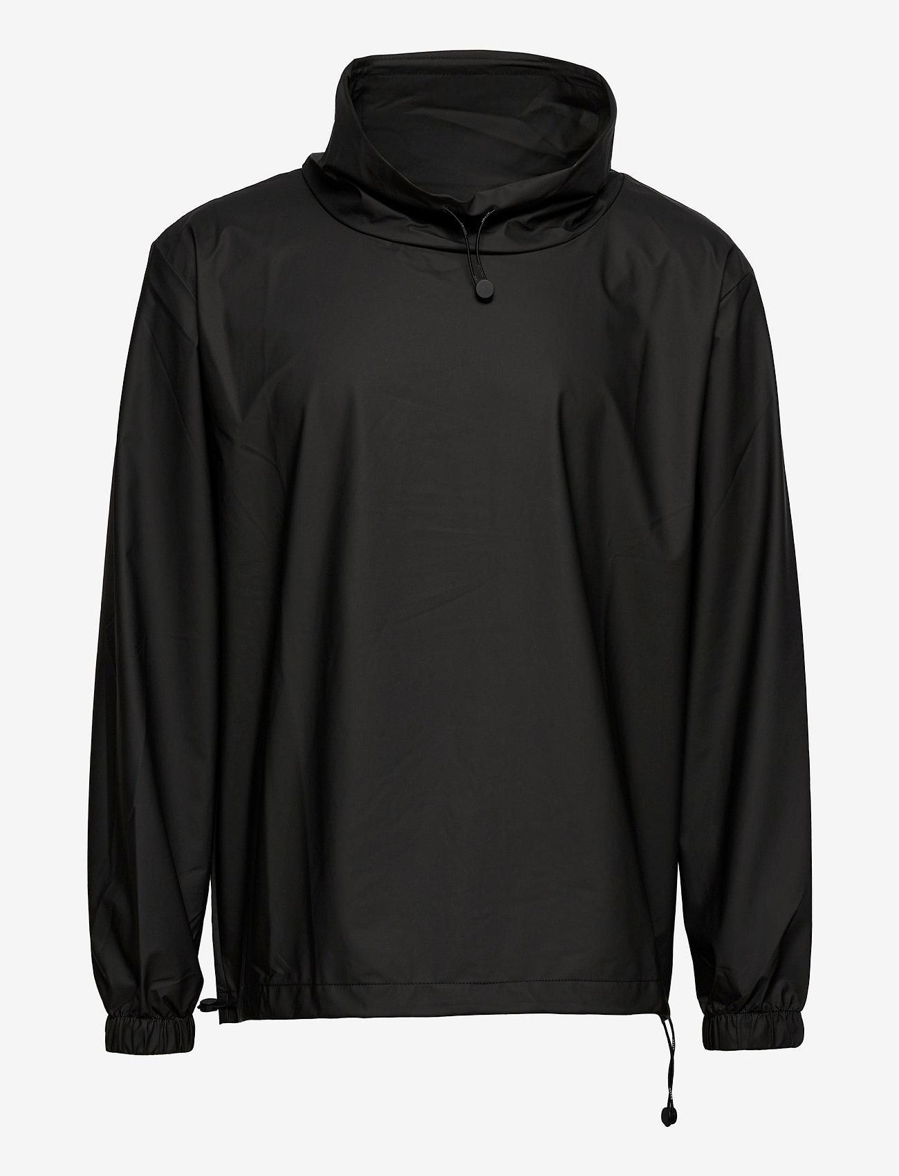 Rains - Ultralight Pullover - manteaux de pluie - black - 0
