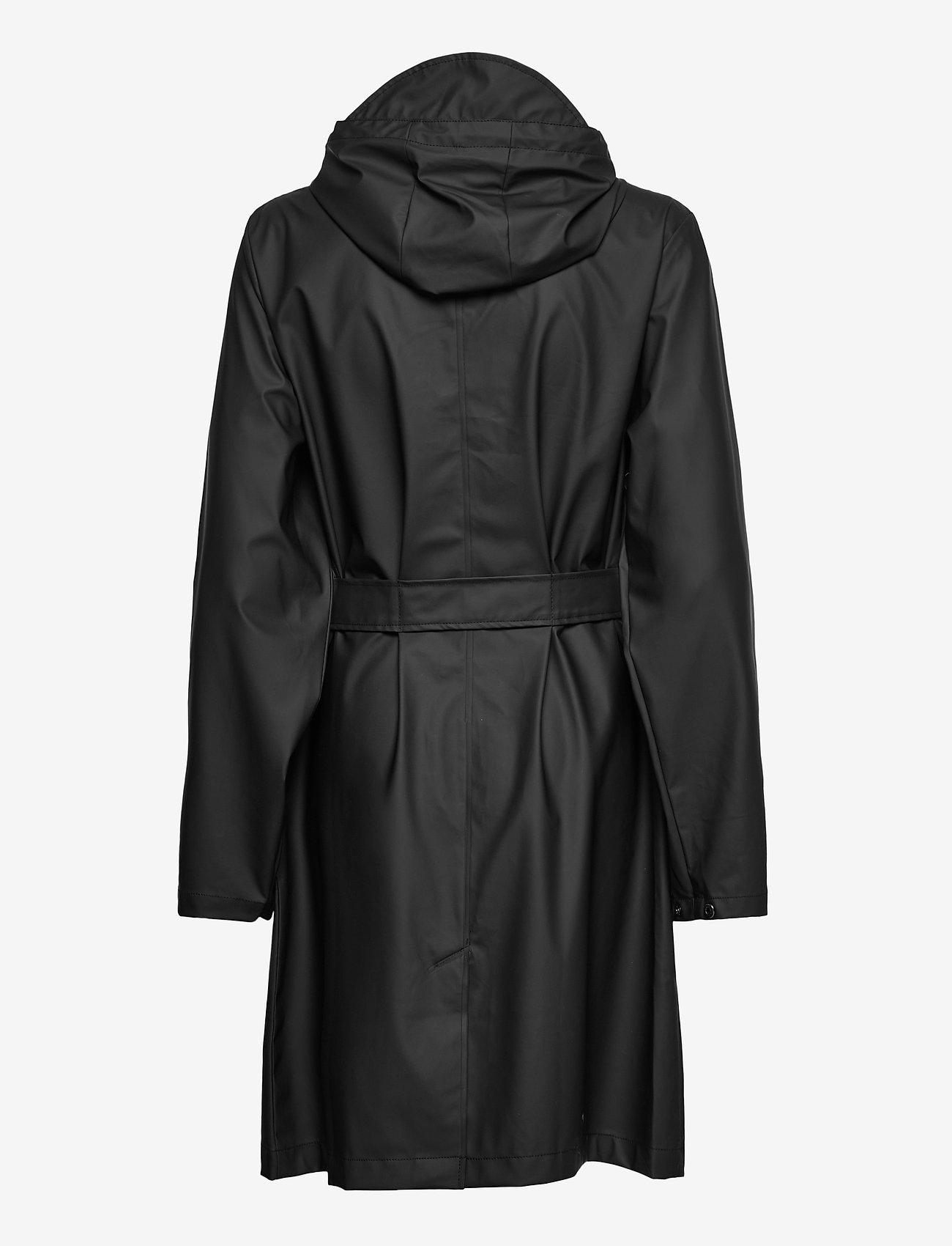 Rains - Belt Jacket - manteaux de pluie - 01 black - 1