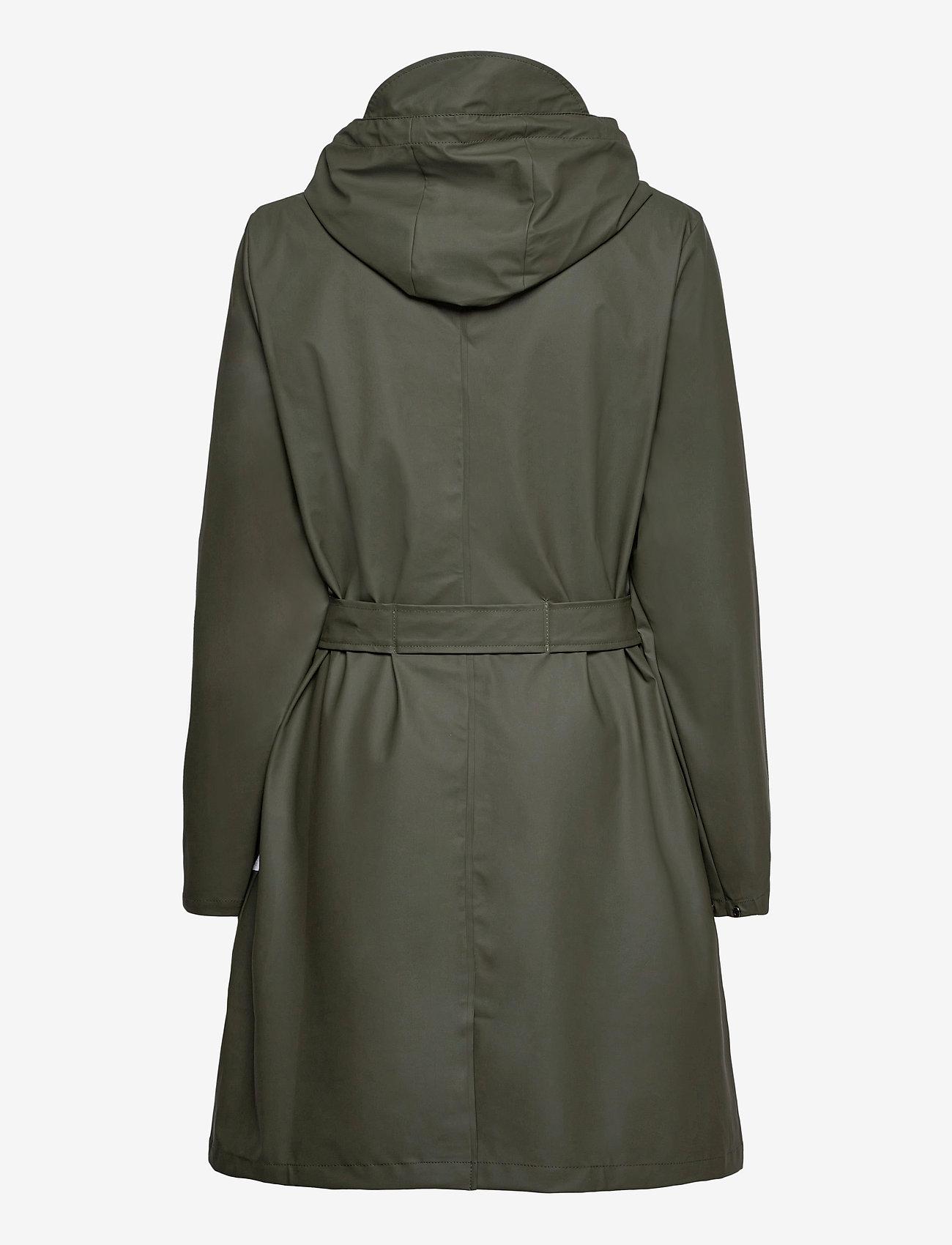 Rains - Belt Jacket - manteaux de pluie - 03 green - 1
