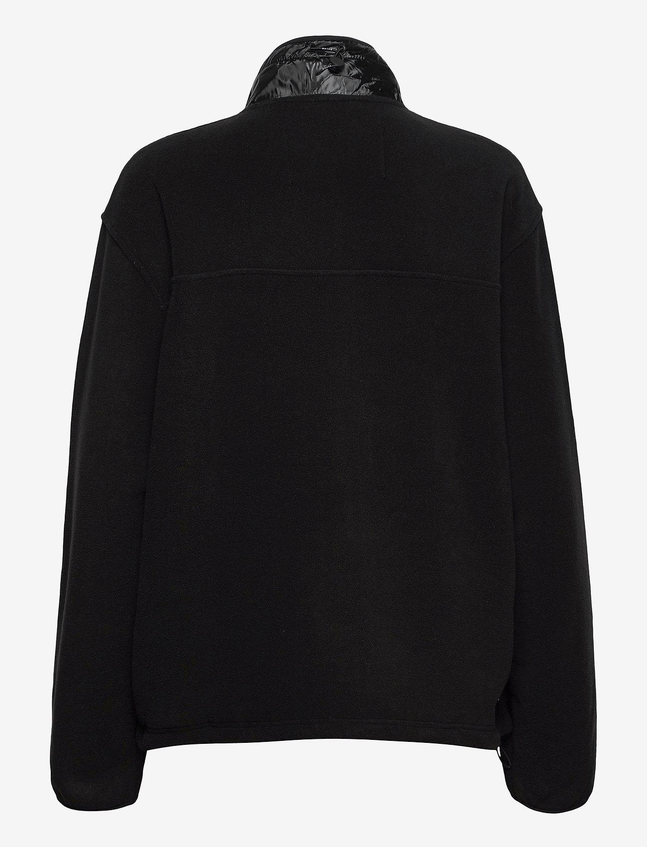 Rains - Fleece Jacket - basic-sweatshirts - 01 black - 1