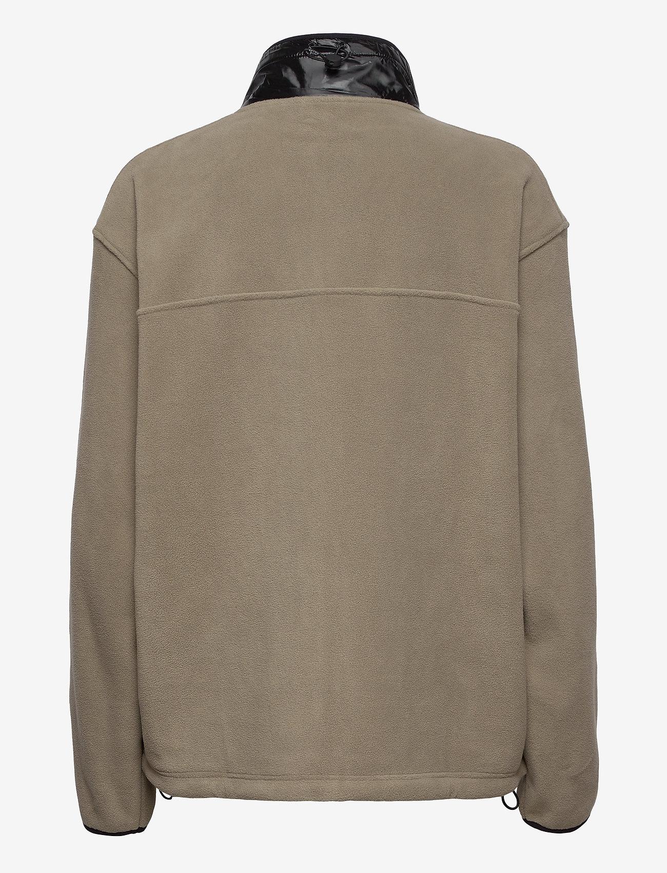 Rains - Fleece Jacket - basic-sweatshirts - 17 taupe - 1