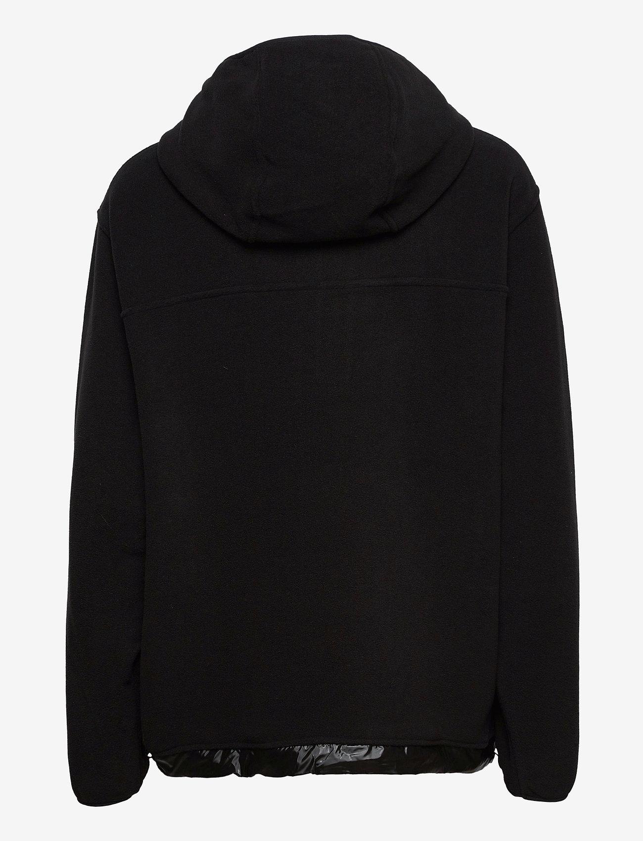 Rains - Fleece Pullover - fleece jassen - 01 black - 1