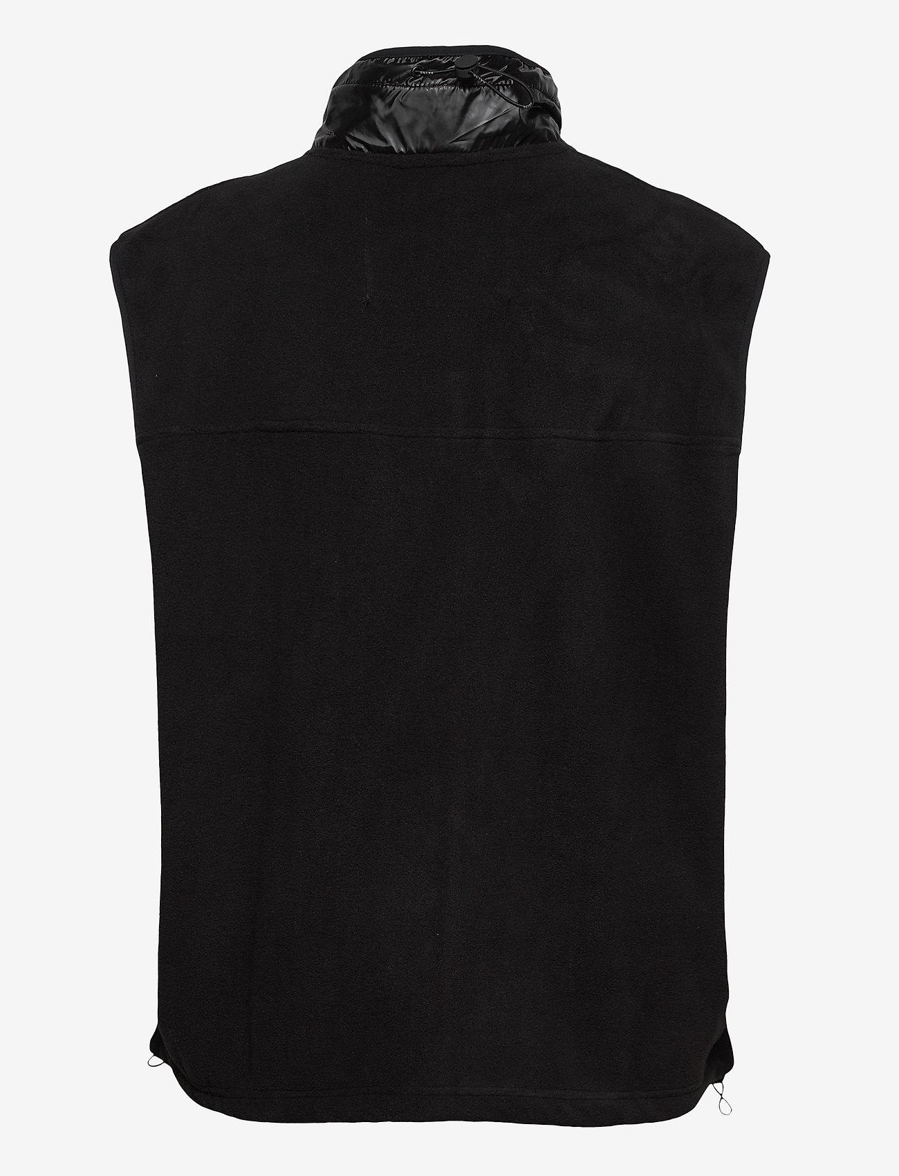 Rains - Fleece Vest - puffer vests - 01 black - 1