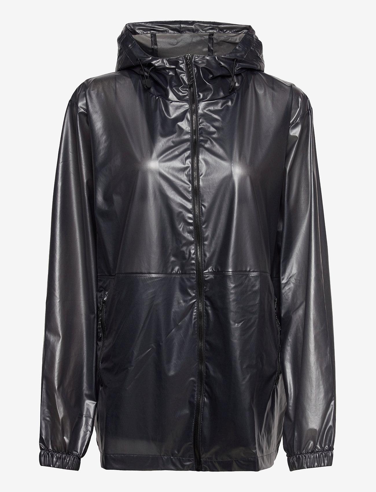 Rains - Ultralight Jacket - manteaux de pluie - 24 shadow black - 0