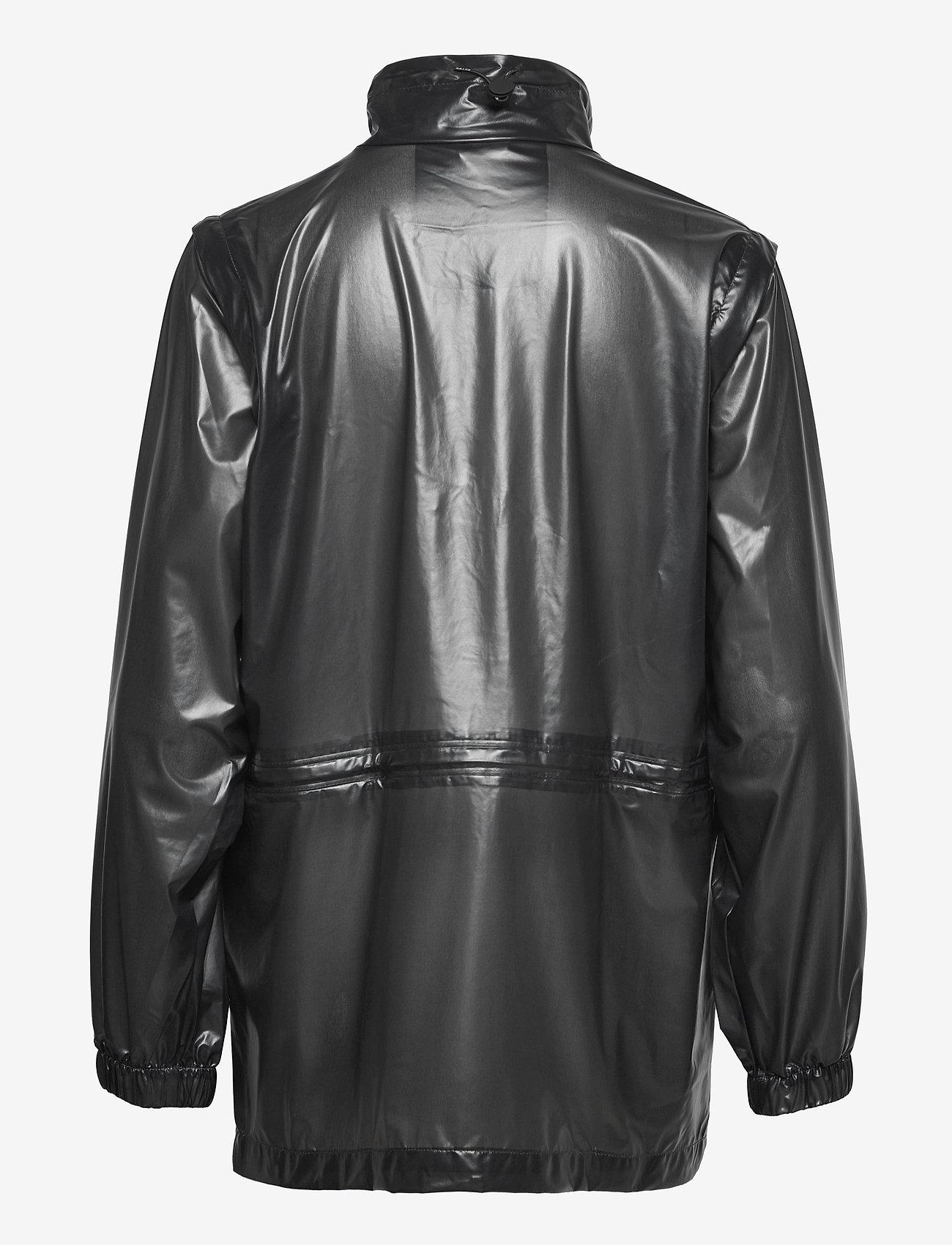 Rains - Ultralight Zip Off Parka - manteaux de pluie - 24 shadow black - 1