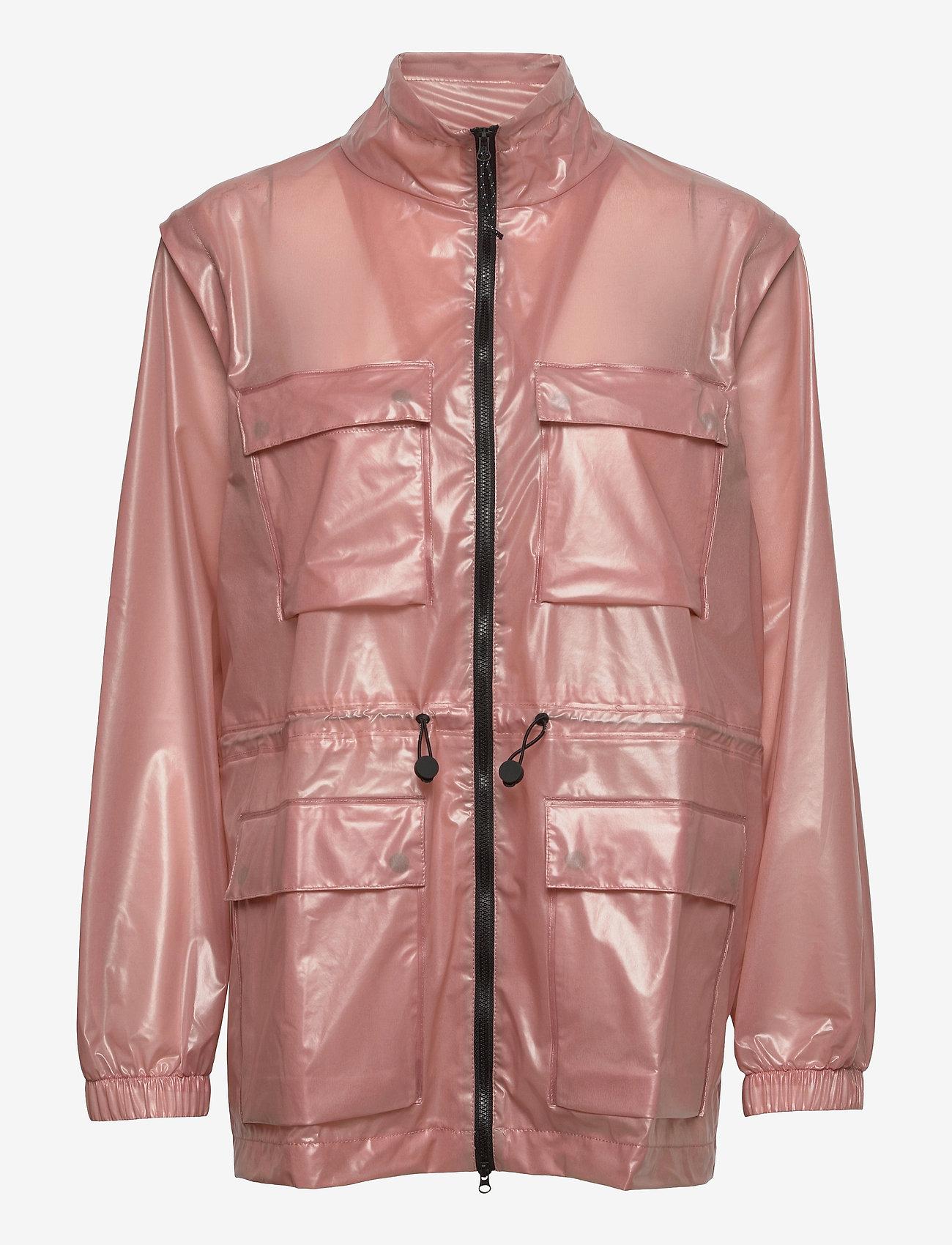 Rains - Ultralight Zip Off Parka - manteaux de pluie - 32 shadow blush - 0