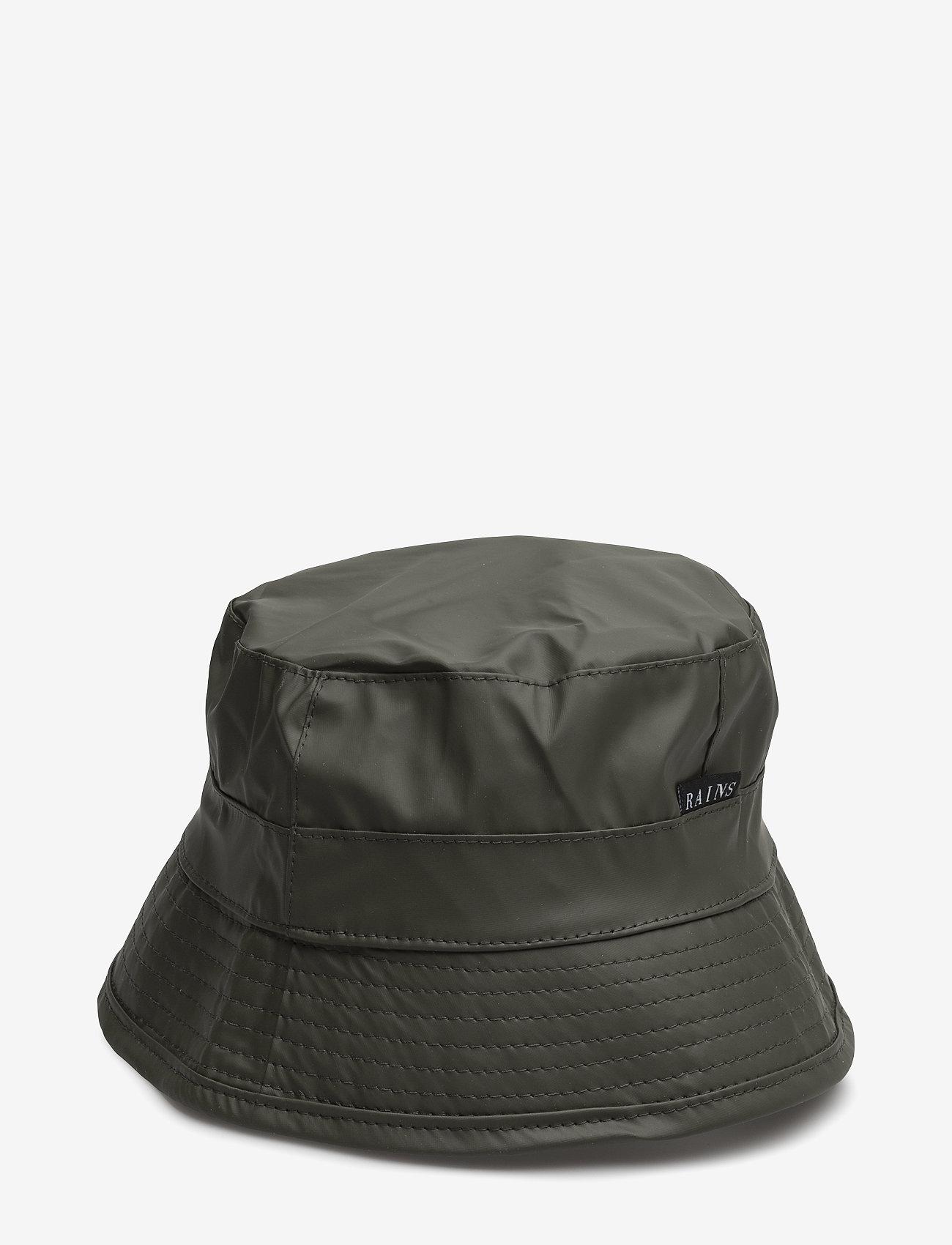 Rains - Bucket Hat - cepures un cepures ar nagu - 03 green - 0