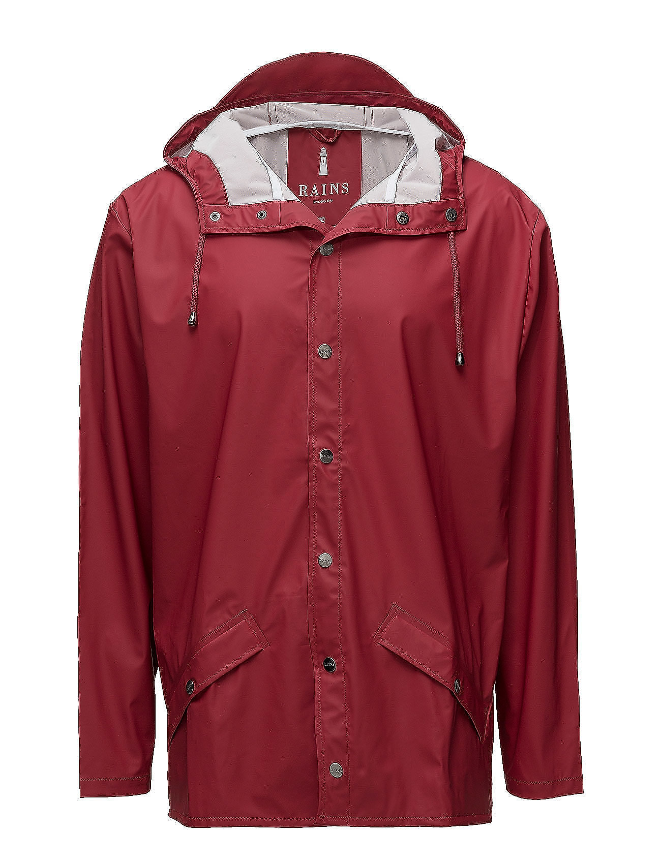 Rains Jacket - 20 SCARLET