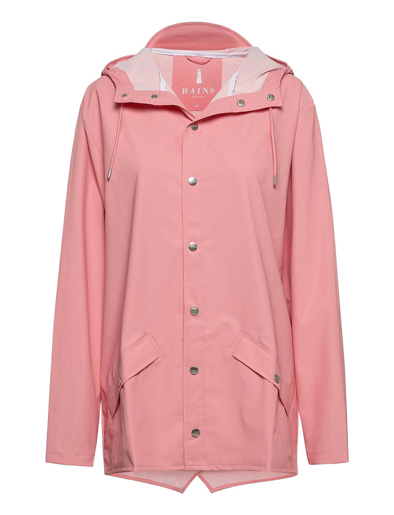 Rains Jacket - CORAL
