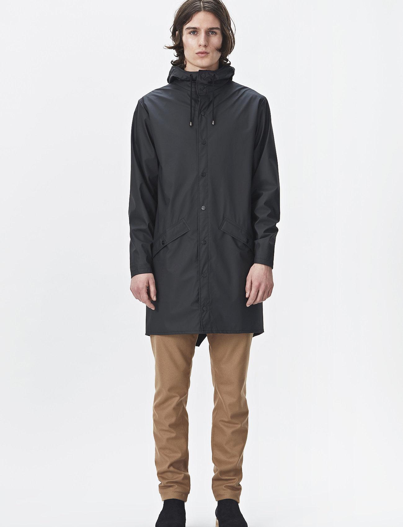 Rains - Long Jacket - manteaux de pluie - 01 black - 0