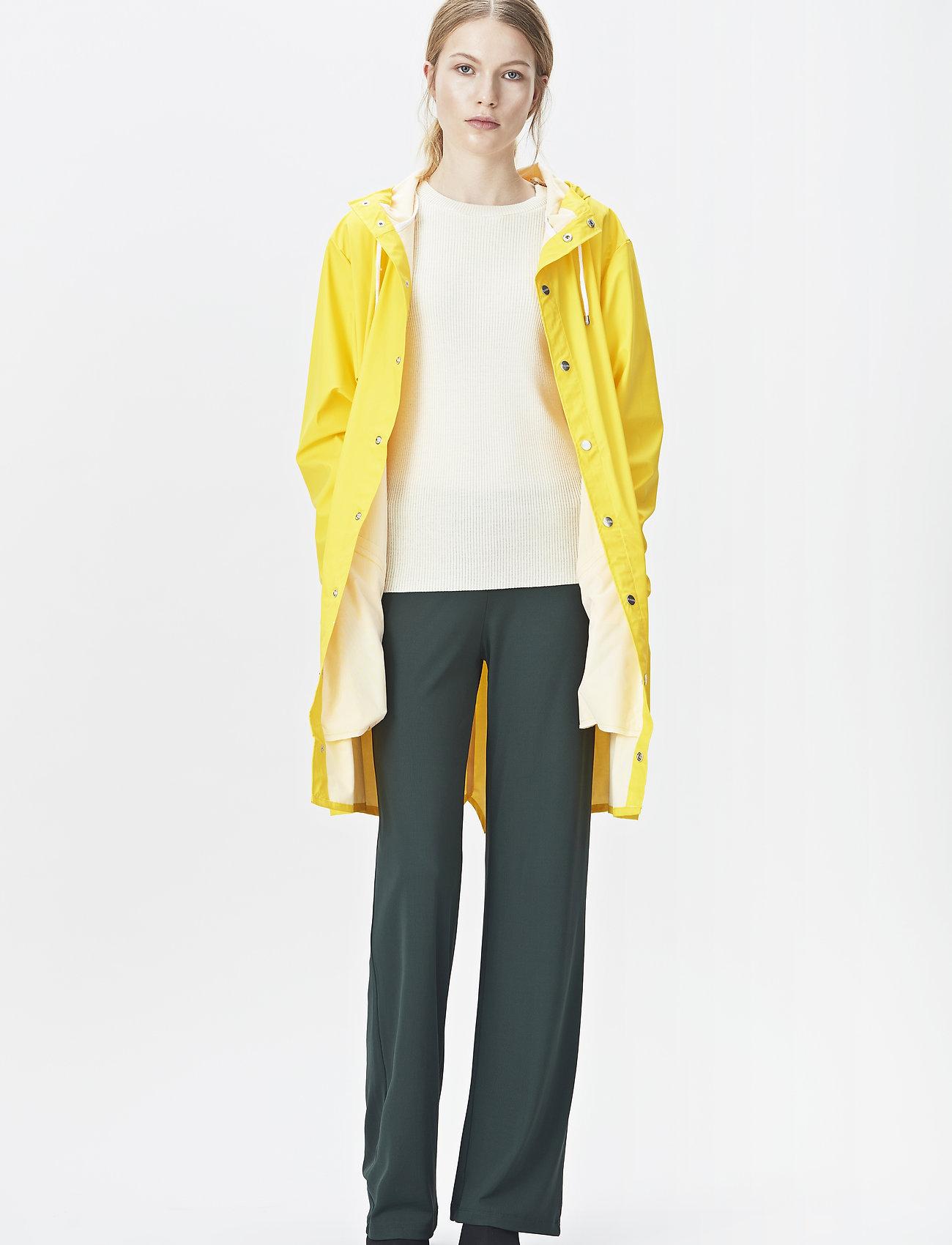Rains - Long Jacket - regenbekleidung - 04 yellow - 0