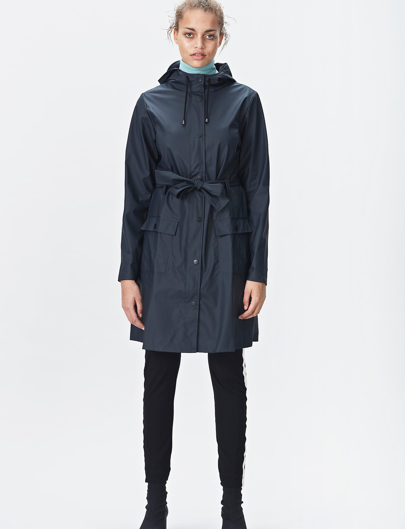 Rains - Curve Jacket - regenbekleidung - 02 blue - 0
