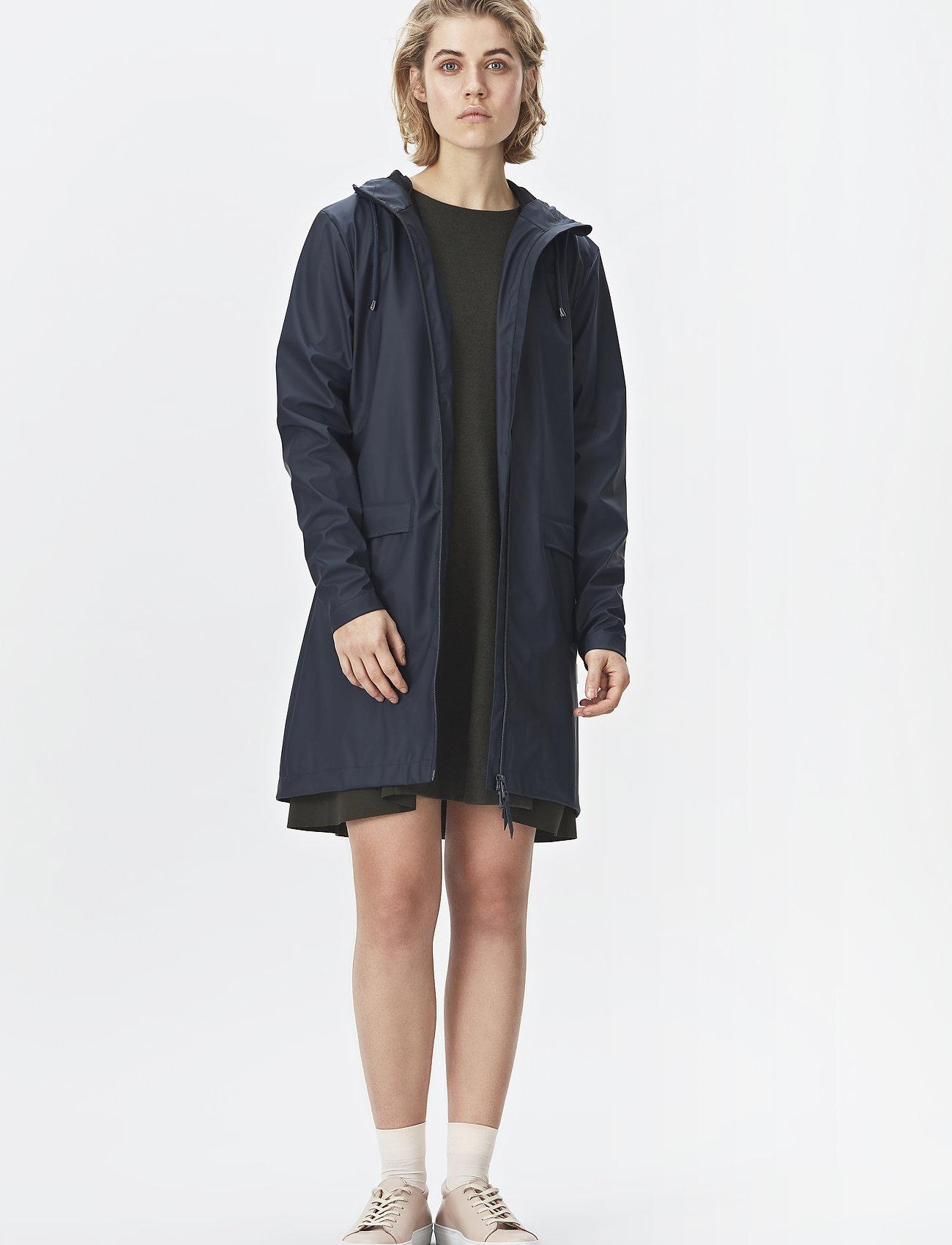 Rains - W Coat - regenbekleidung - 01 black - 0