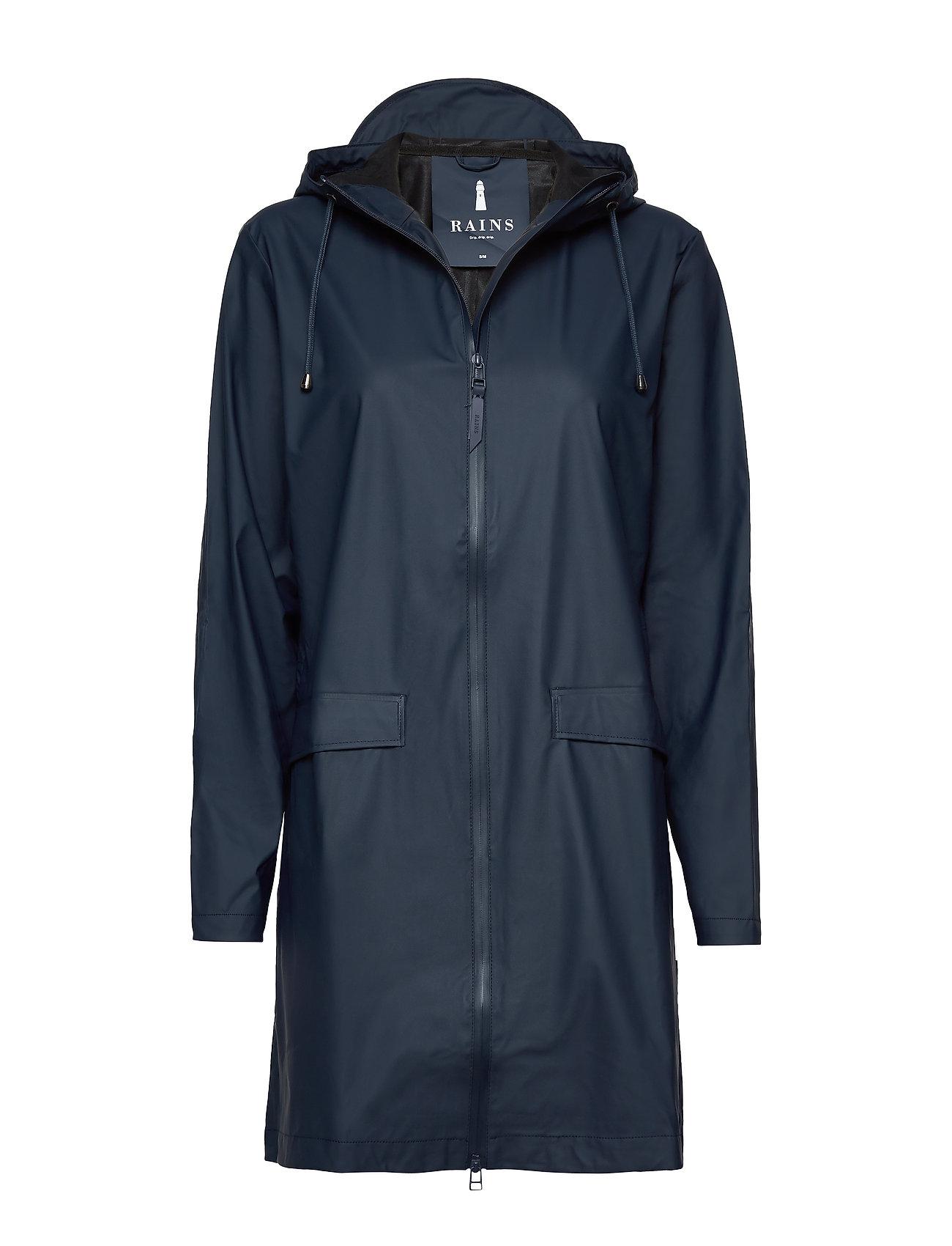 Image of W Coat Regntøj Blå Rains (2657050939)