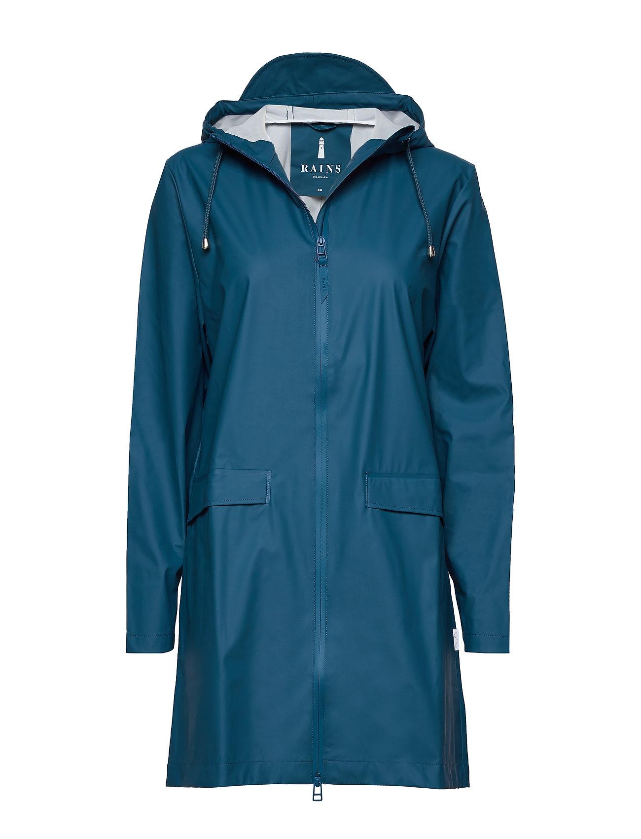 Image of W Coat Regntøj Blå Rains (3270664589)