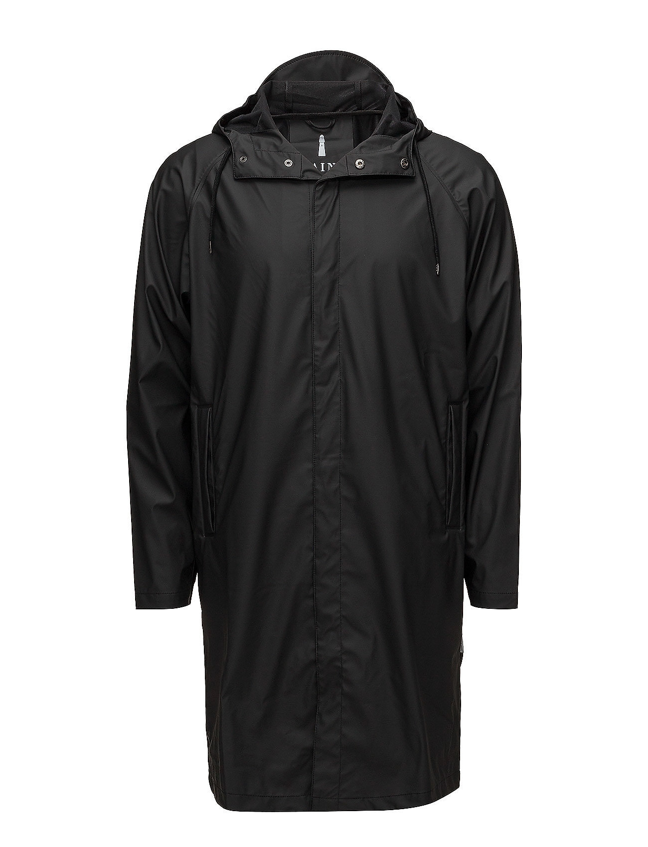 Rains Coat - 01 BLACK