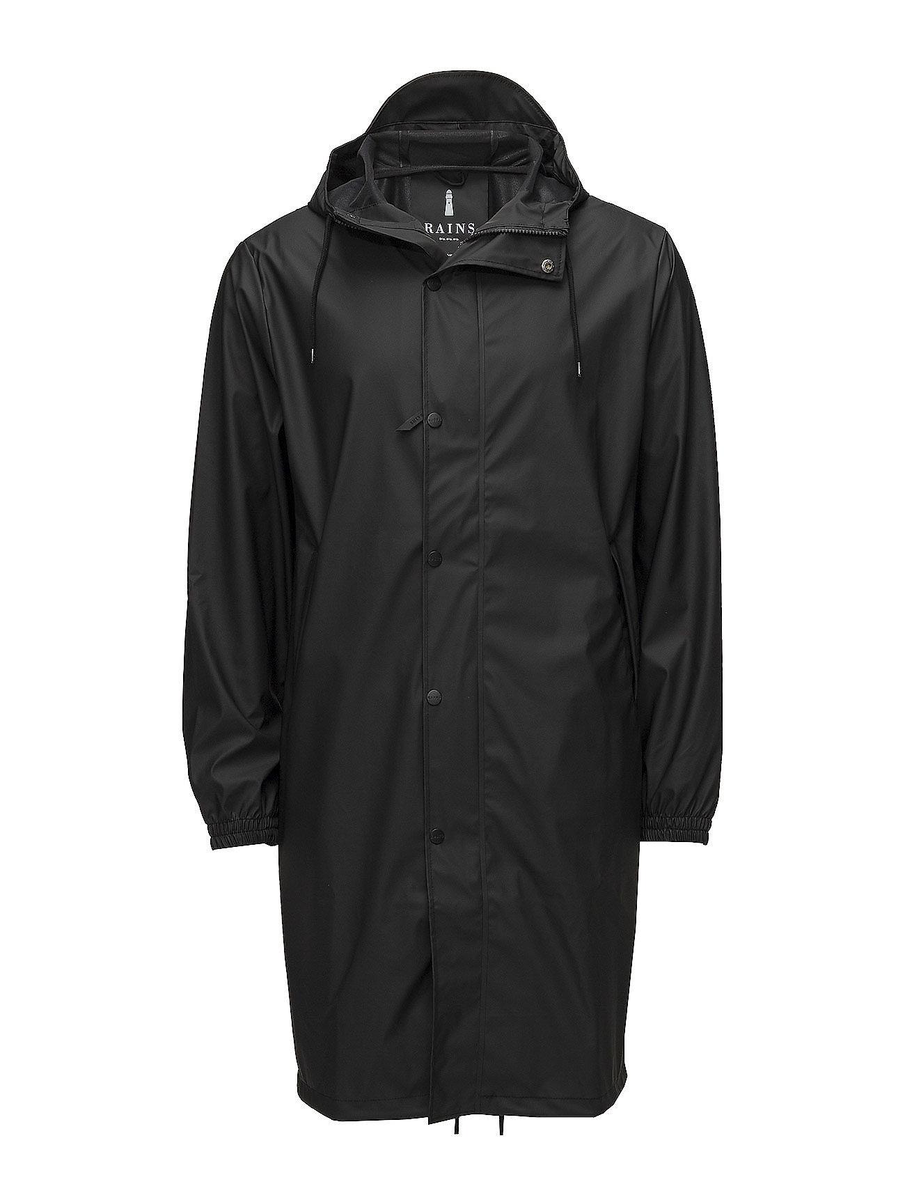 Rains Fishtail Parka - 01 BLACK
