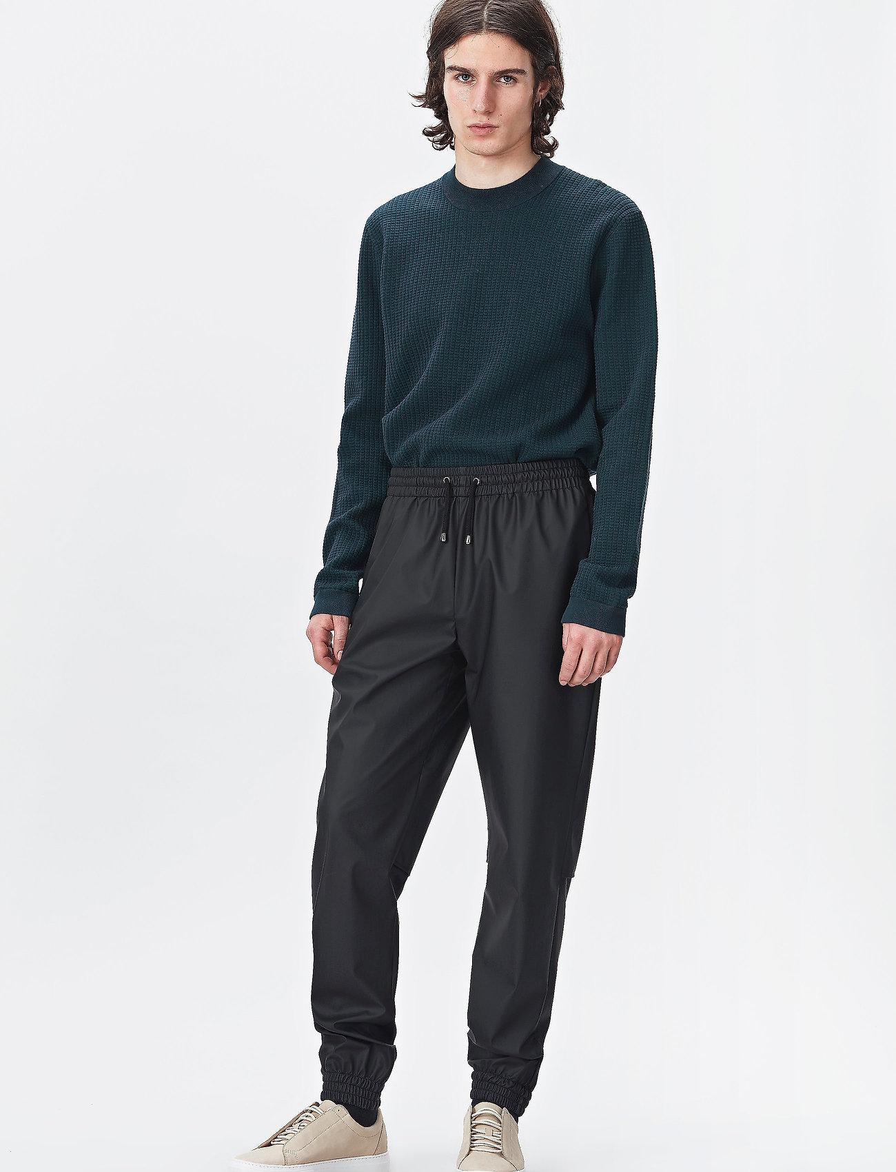 Rains - Trousers - regnbukser - 01 black - 0