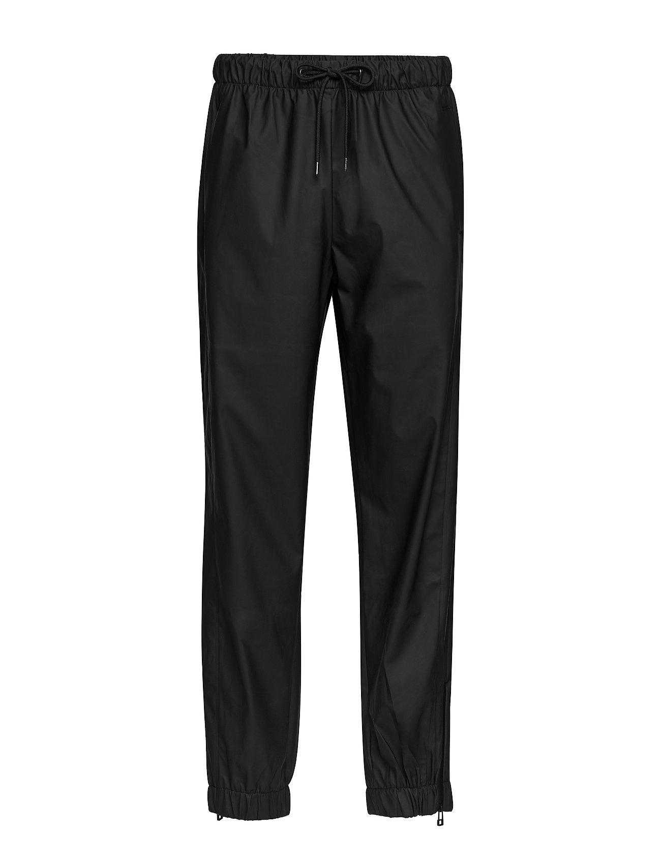 Rains - Pants - regnbukser - 01 black - 0