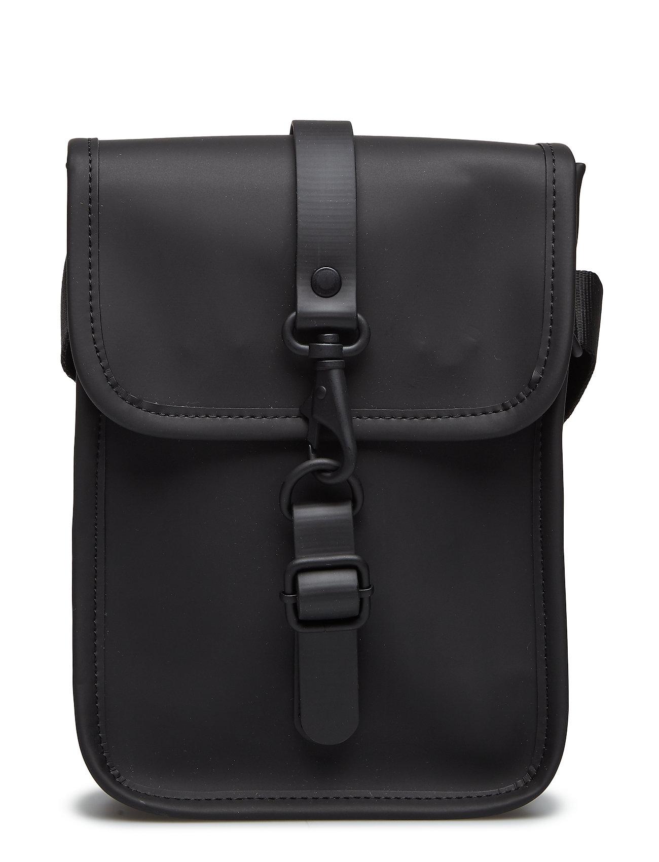 Rains Flight Bag - 01 BLACK