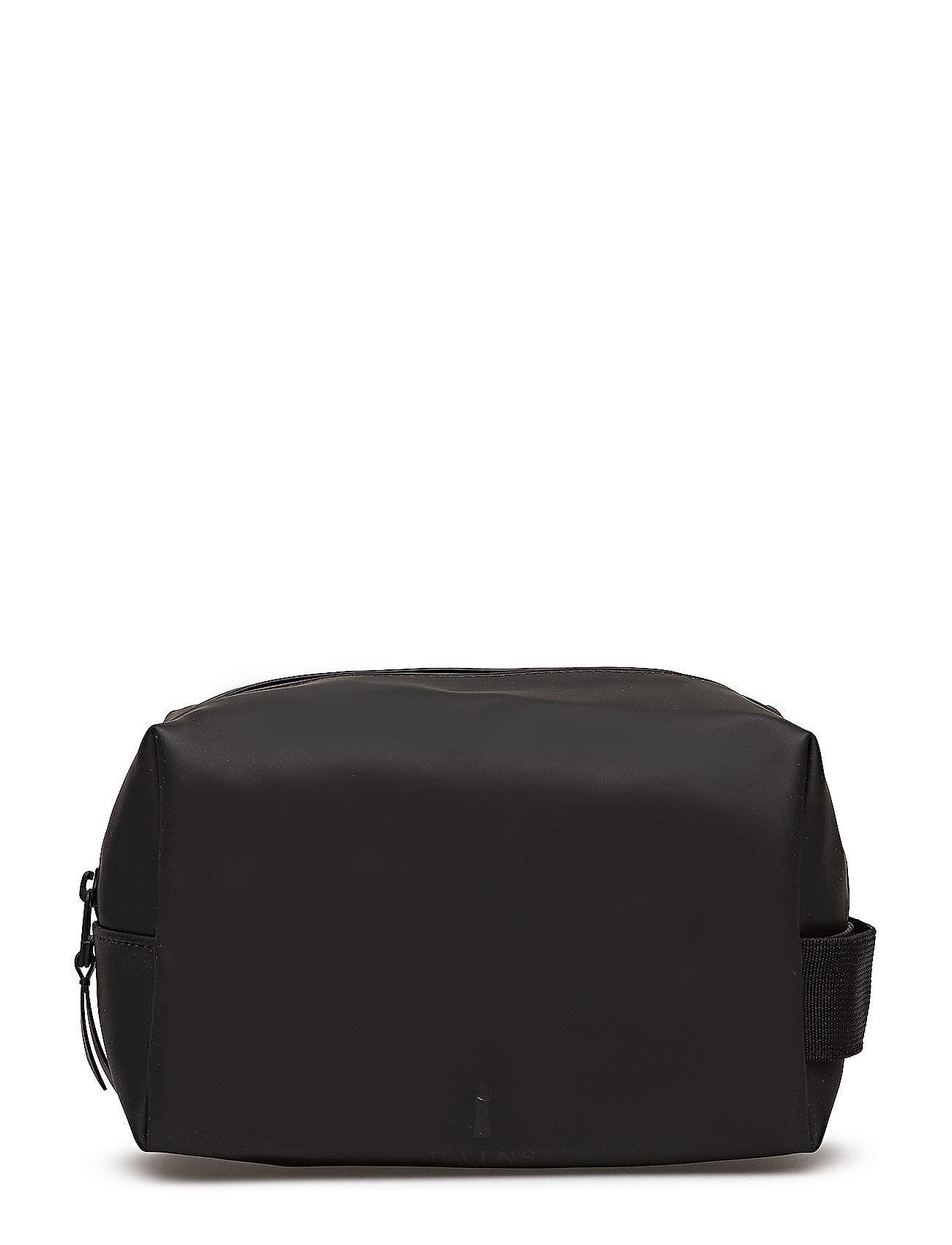 Rains Wash Bag Small - 01 BLACK
