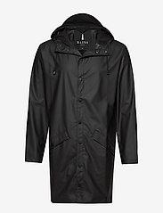 Rains - Long Jacket - manteaux de pluie - 01 black - 1