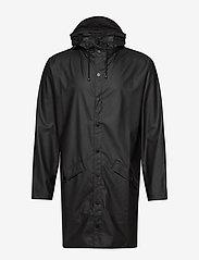 Rains - Long Jacket - manteaux de pluie - 01 black - 2