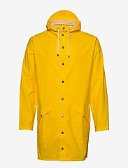 Rains - Long Jacket - regenbekleidung - 04 yellow - 2