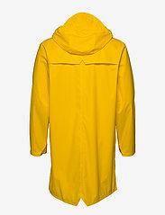 Rains - Long Jacket - regenbekleidung - 04 yellow - 3