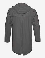 Rains - Long Jacket - regenbekleidung - 18 charcoal - 2