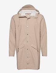 Rains - Long Jacket - regenbekleidung - 35 beige - 0