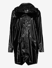 Rains - Long Jacket - regenbekleidung - 76 shiny black - 0