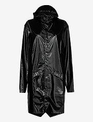 Rains - Long Jacket - regenbekleidung - 76 shiny black - 1