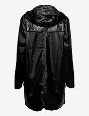 Rains - Long Jacket - regenbekleidung - 76 shiny black - 2