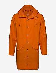 Rains - Long Jacket - regenbekleidung - 83 fire orange - 0