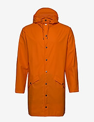 Rains - Long Jacket - regenbekleidung - 83 fire orange - 1