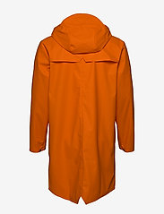 Rains - Long Jacket - regenbekleidung - 83 fire orange - 5