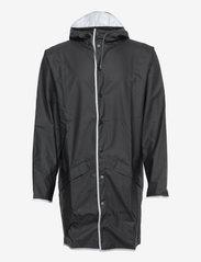 Long Jacket - BLACK REFLECTIVE