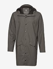 Rains - Long Jacket - regenbekleidung - charcoal - 0