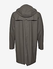 Rains - Long Jacket - regenbekleidung - charcoal - 5