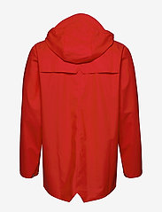 Rains - Long Jacket - regenbekleidung - red - 5