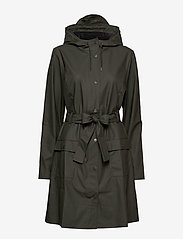 Rains - Curve Jacket - manteaux de pluie - 03 green - 2