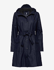 Rains - Curve Jacket - regenbekleidung - 02 blue - 1