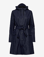 Rains - Curve Jacket - regenbekleidung - 02 blue - 3
