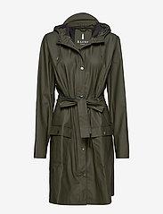 Rains - Curve Jacket - regenbekleidung - 03 green - 0