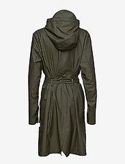 Rains - Curve Jacket - regenbekleidung - 03 green - 2