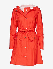 Rains - Curve Jacket - sadevaatteet - red - 0