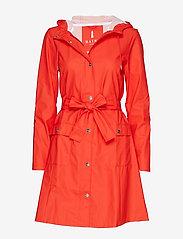 Rains - Curve Jacket - regnkläder - red - 0