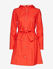 Rains - Curve Jacket - regnkläder - red - 1
