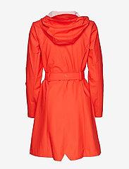 Rains - Curve Jacket - regnkläder - red - 2